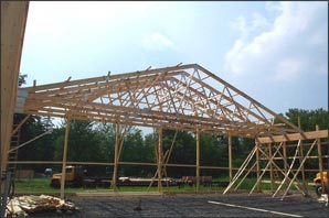 PreEngineered Trusses  Finger Lakes New York  NY